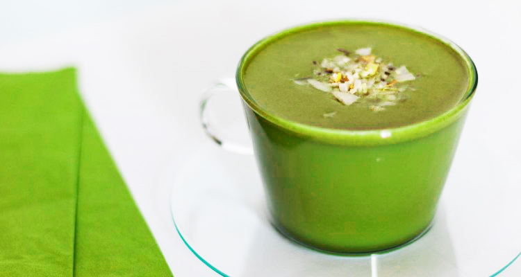 Fresh Mint Matcha Latte