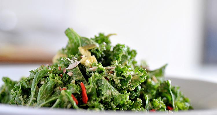 Superfood Salad With Goji Berries