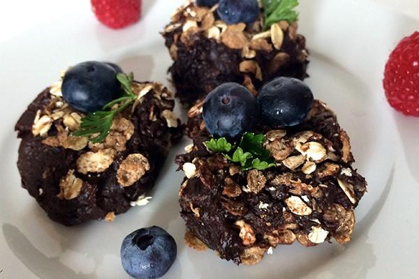 yuve protein brownies