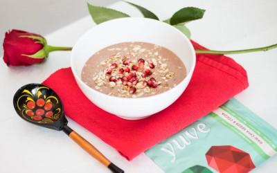 yuve protein chocolate smoothie bowl