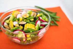 corn salad with edamame