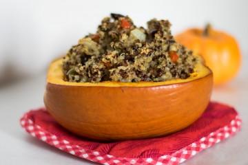 pumpkin quinoa entree