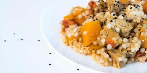 butternut squash moroccan couscous