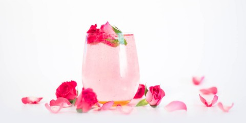 rose orange spritzer