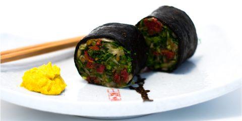 vegetarian rolls