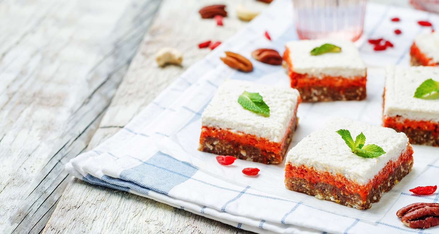 Raw Goji Coconut Cake