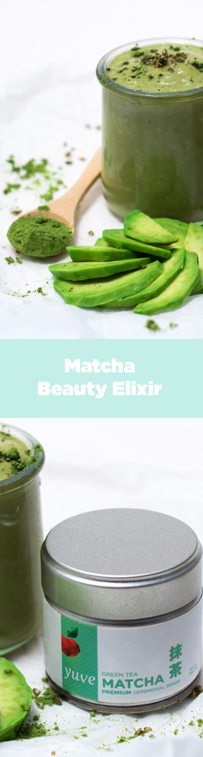 matcha beauty elixir pinterest